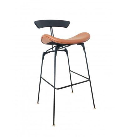 כיסא בר חדש מושב מרופד 4564