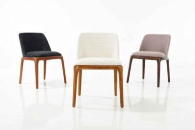 כיסא אורח/כיסא פינת אוכל מרופד 0008
