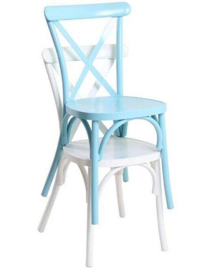 כיסא אלומיניום נערם לבתי קפה ומסעדות 5589