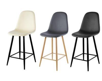כיסא בר מרופד דגם 8877