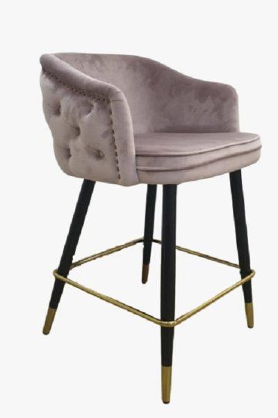 כיסא בר מרופד דגם 55967