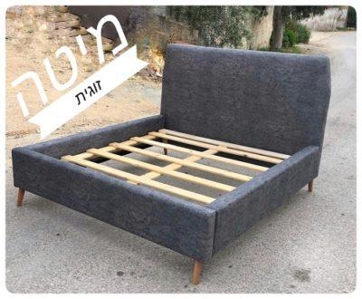 מיטה זוגית בעיצוב חדשני דגם 3333