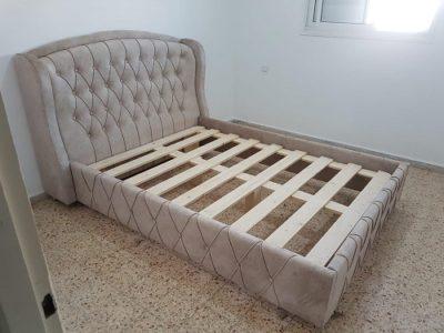 מיטה זוגית מעוצבת דגם8888