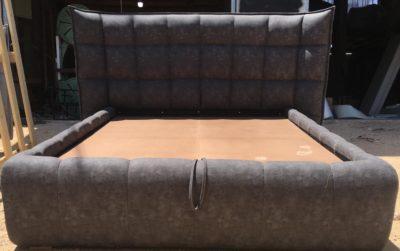 מיטה זוגית מעוצבת עם ארגז מצעים דגם 1111