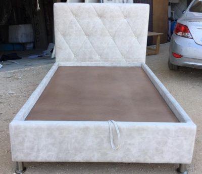 מיטת יחיד עם ארגז דגם 1112