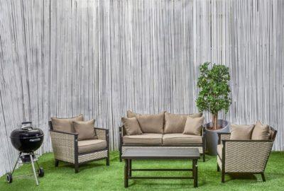 מערכת ישיבה דו מושבית לגינה ראטן סינטטי 775683