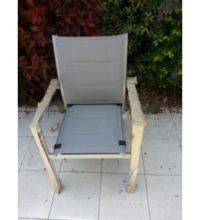 דגם כיסא אלומיניום עם ספוג פנימי