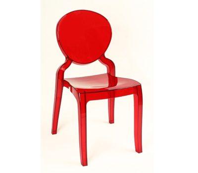 דגם כיסא פינת אוכל שקוף פלסטיק