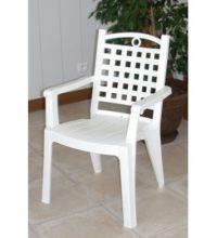 דגם כסא לבן מפלסטיק דגם 56984