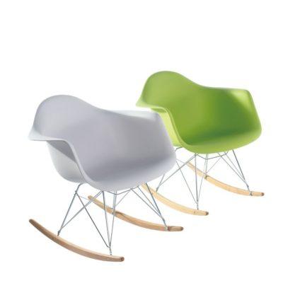 דגם כסא פלסטיק שילוב עץ 65675