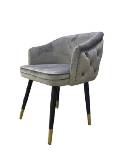 כיסא לפינת אוכל מרופד דגם 55968