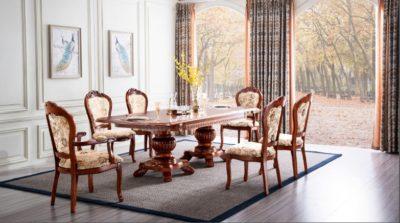שולחן לפינת אוכל נפתח 90*190 דגם 000858
