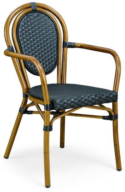 כיסא לפינת אוכל עם ידיות דגם 1587
