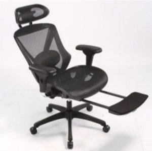 כסא מנהלים עם הדום נשלף לרגליים