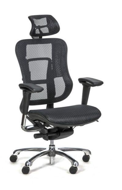 כיסא מנהלים ארגונומי חדשני דגם 555