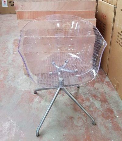 כיסא שקוף מסתובב דגם 67377