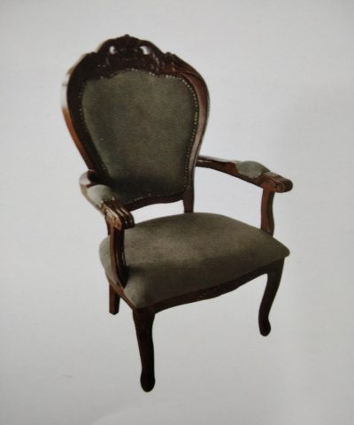 כיסא מרופד לפינת אוכל דגם 8837