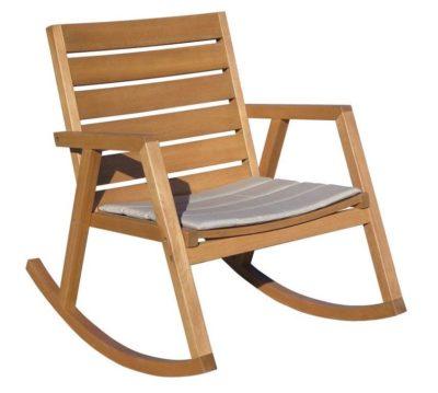 כיסא נדנדה מעץ דגם 8773