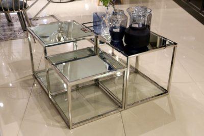 שולחן נירוסטה 4 קוביות דגם 6647