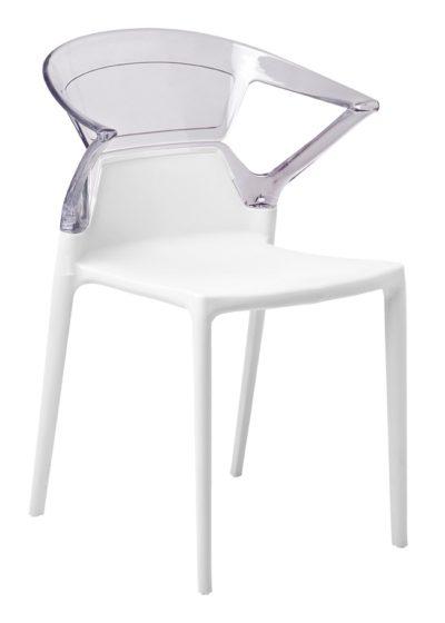 כסא פלסטיק שקוף לפינת אוכל 661237