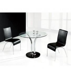 דגם שולחן לפינת אוכל מזכוכית טושיל
