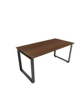 """דגם שולחן עבודה פלטה 28מ""""מ כולל קושרת עץ 60×120"""