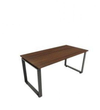 שולחן משרדי 70×160 פלטה עץ 28 ממ+רגלי חלון