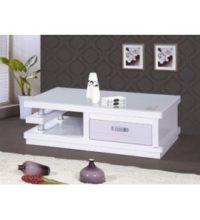 דגם שולחן קפה סלונים B-02 לבן