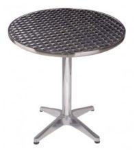 דגם שולחן נירוסטה קוטר 80