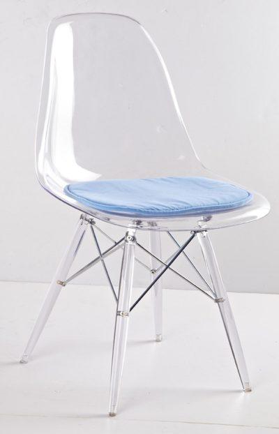 כסא שקוף לפינת אוכל 118879