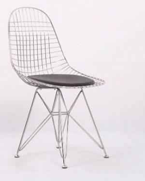 כיסא ממתכת אל חלד דגם 7737