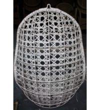 564220 ערסל רשת בצורת ביצה בצבע לבן