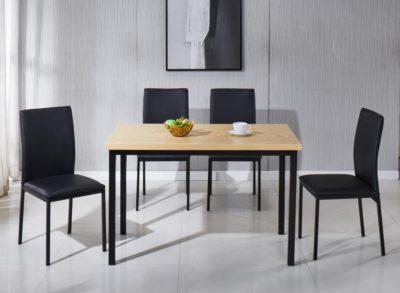 שולחן + 4 כיסאות דגם 7756