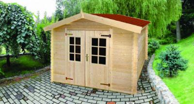 """מחסן עץ איכותי מיוצר באירופה מעץ 430×280 ס""""מ. Spruce"""