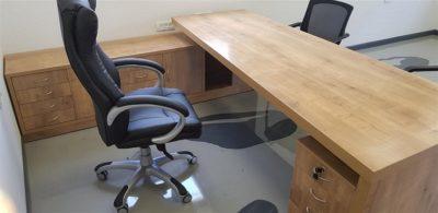 שולחן מנהלים בראוני 6666