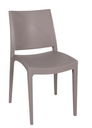 דגם כסא מפלסטיק איכותי,8995 צבע בז' או או אפור כהה