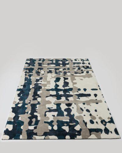 שטיח לסלון סוהו כחול 200X300 מיקרופייבר