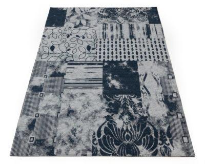 שטיח לסלון דומונט כחול 155X230 כותנה