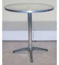 דגם שולחן נירוסטה קוטר 60 רגל 3 זרועות
