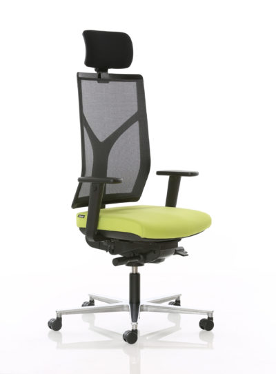 ROVO R16 כסא מנהל+משענת ראש