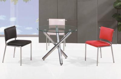 שולחן לפינת אוכל מזכוכית דגם 6645